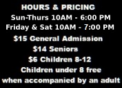 Hours/Pricing Info